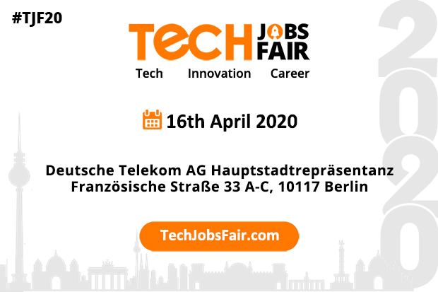 Tech Jobs Fair Berlin – 2020